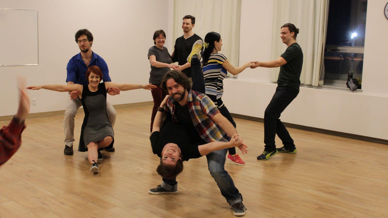 Cours de danse swing