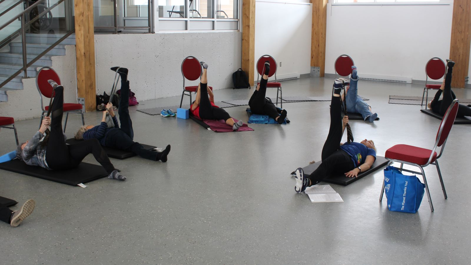 cours de stretching