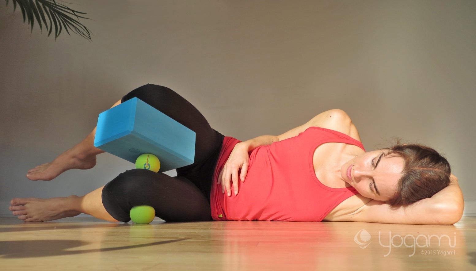 cours de yoga balles
