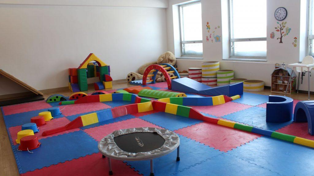 La salle de psychomotricité
